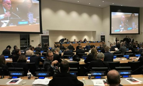 Le lancement de l'alliance mondiale visant à mettre fin au commerce de biens utilisés pour infliger la peine capitale ou la torture. Ph : DR