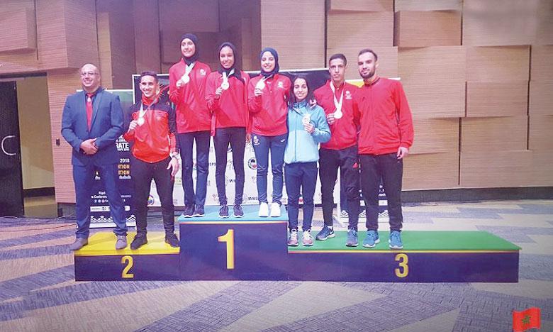 Le Maroc classé 3e avec sept médailles, dont une en or
