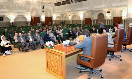 Conférence-débat à l'Académie du Royaume du Maroc consacrée au rayonnement de l'Alhambra
