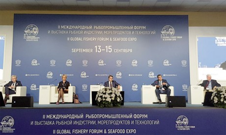 Aziz Akhannouch plaide à Saint-Pétersbourg pour le soutien de la recherche et des  technologies innovantes pour soutenir  une croissance durable du secteur