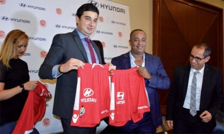 Hyundai s'invite sur les maillots des Rouges jusqu'en 2021