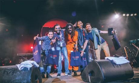 Le groupe Hahoma a remporté le premier prix dans la catégorie Fusion.