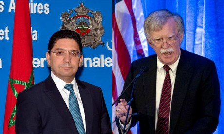 Nasser Bourita rencontre John Bolton à la Maison-Blanche