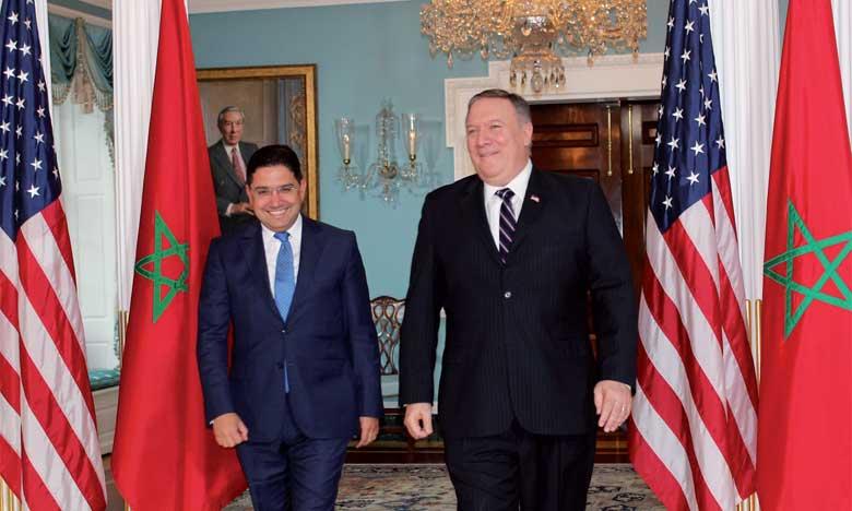 Nasser Bourita et Michael Pompeo conviennent de la tenue du dialogue stratégique Maroc/États-Unis l'année prochaine à Washington