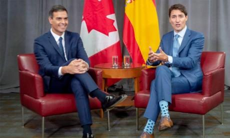 La position du Canada dans le cadre de la renégociation de l'Aléna ne dépend pas du contexte politique au Québec ou au Nouveau-Brunswick, a assuré le Premier ministre Justin Trudeau . Ph : DR