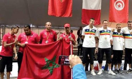 Le Maroc vice-champion du monde