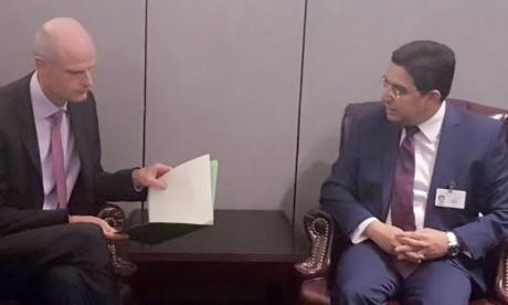 Nasser Bourita réitère devant son homologue hollandais le rejet catégorique des interférences des Pays-Bas au sujet des événements du Rif