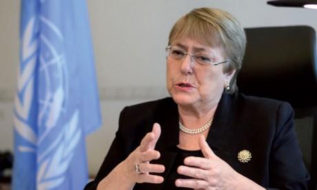 Michelle Bachelet appelle à créer un organe chargé de préparer des poursuites