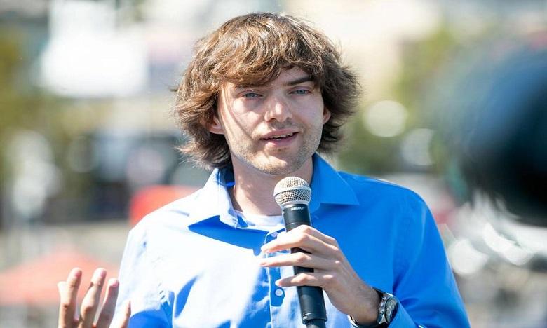 Boyan Slat , PDG et fondateur de Ocean Cleanup. Ph: DR