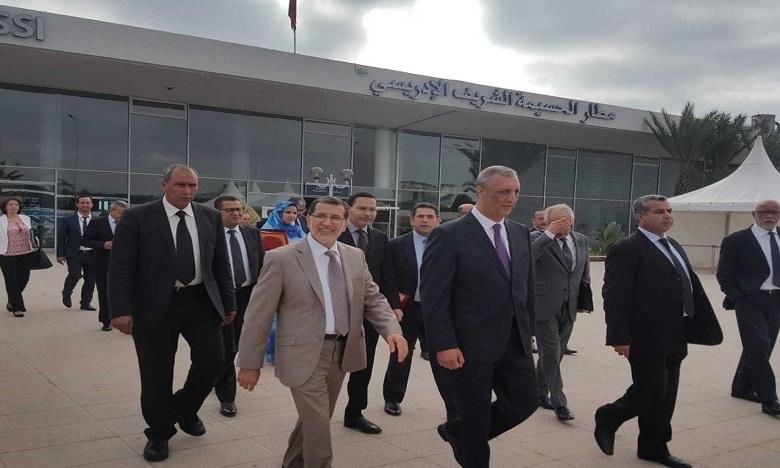 El Othmani prend part au  Congrès national de  la route