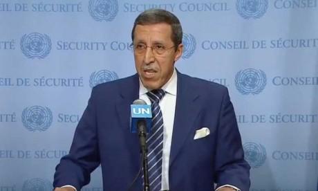 Une reconnaissance par les Nations unies de l'action et de la sollicitude humanitaire de Sa Majesté le Roi