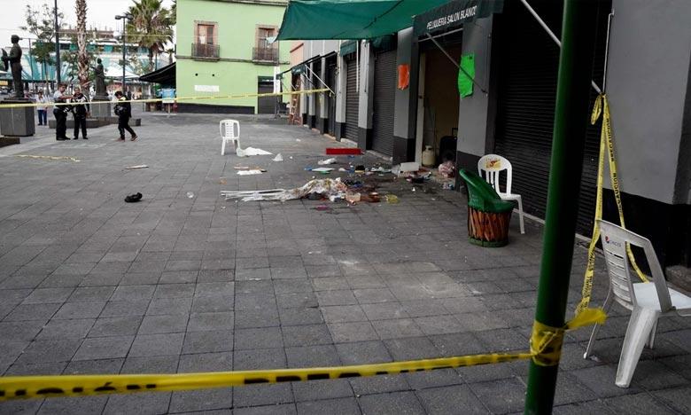 Fusillade à Mexico : Cinq personnes tuées et huit blessées