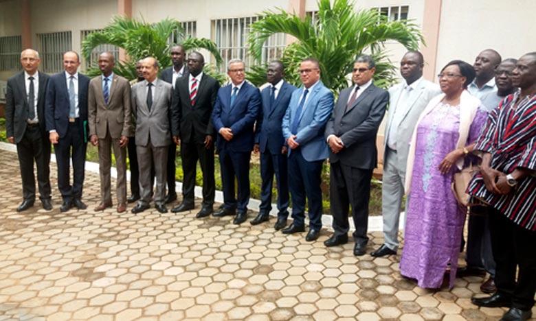 La convention-cadre de coopération, qui lie l'ENAM et l'ISM , leur permettra de travailler ensemble dans un esprit de collaboration. Ph : MAP
