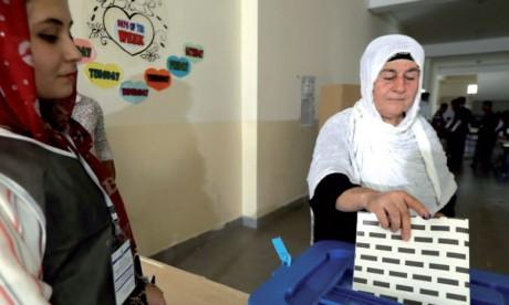 Le Kurdistan d'Irak élit son nouveau Parlement