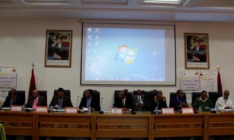Le Conseil provincial d'Oued-Eddahab, réuni en session ordinaire pour le mois de septembre, a adopté à l'unanimité le projet de son budget au titre de l'exercice 2019. Ph : DR