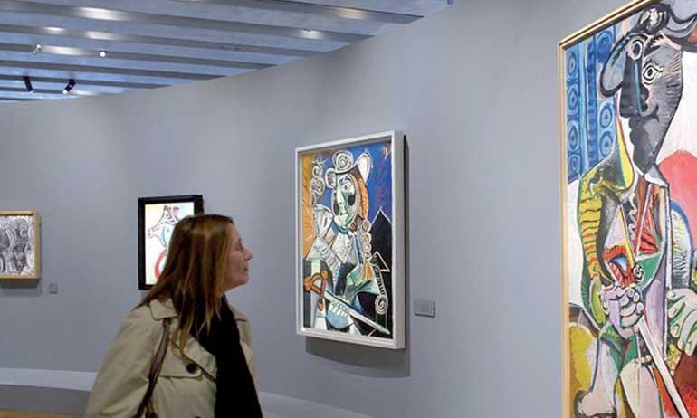 Mehdi Qotbi : «C'est une grande découverte pour le public quand il vient au Musée et trouve tous les grands maitres de la peinture et toute la Méditerranée t présente.»