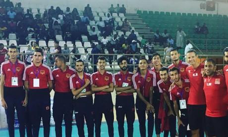 Le Maroc termine sur la troisième marche du podium
