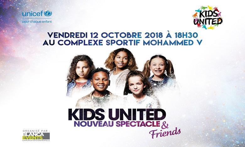 Les Kids United changent la date de leur concert