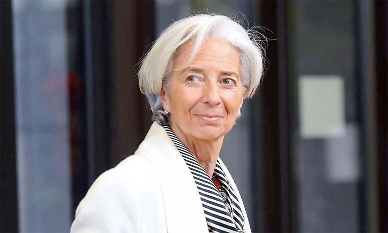 La directrice générale du Fonds monétaire international (FMI),Christine Lagard. PH : DR
