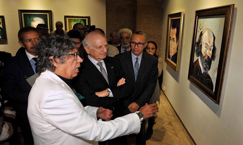 « Des Génies » que Doukkali s'est ingénié à peindre