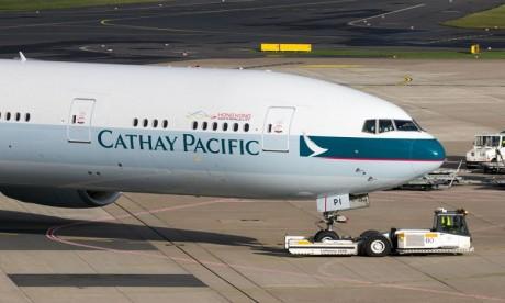 Transport aérien : Cathay Pacific affectée par une fuite de données