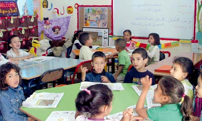 73 classes intégrées de l'enseignement préscolaire ont été créées et 5 unités d'enseignement primaire sont en cours de préparation. Le taux de généralisation de l'enseignement primaire dans la province de Zagora se situe entre 50 et 60%. Ph : DR