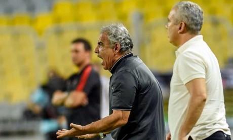 Faouzi Benzarti, un Tunisien de 68 ans, avait quitté le club marocain Wydad Casablanca pour prendre les rênes de la sélection tunisienne, où il avait débuté le 29 juillet avec un contrat de deux ans renouvelables. Ph : AFP