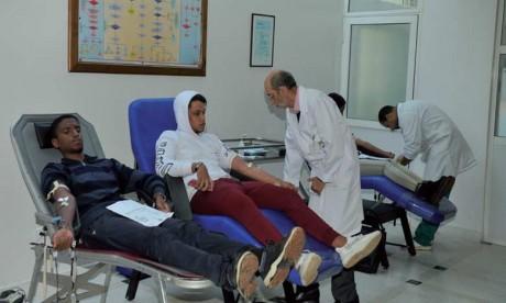 L'exceptionnel élan de solidarité  des donneurs de sang