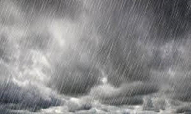 De fortes rafales de vent et fortes pluies du lundi au mercredi