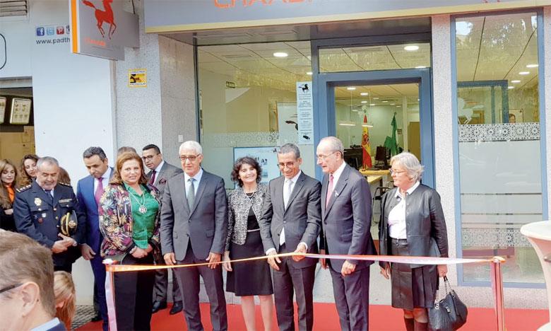 L'agence de Malaga, inaugurée vendredi 19 octobre, doit recevoir ses premiers clients aujourd'hui.