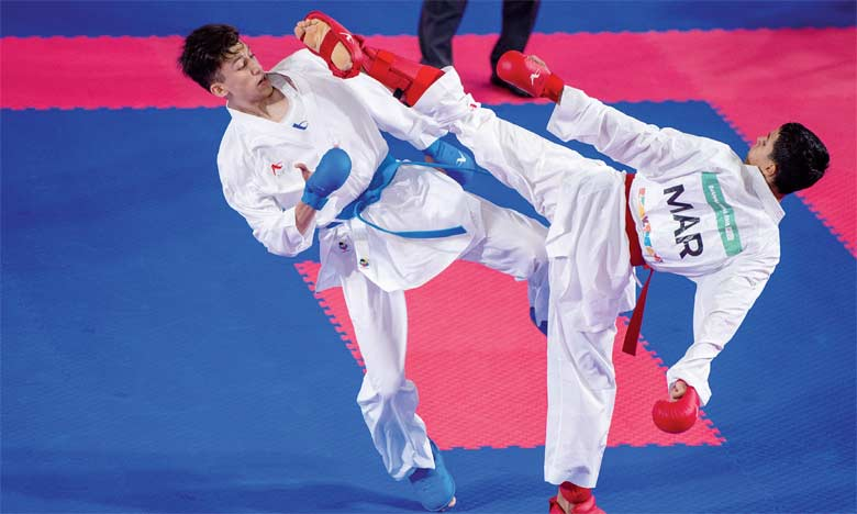 Le karaté offre une cinquième  médaille au Maroc