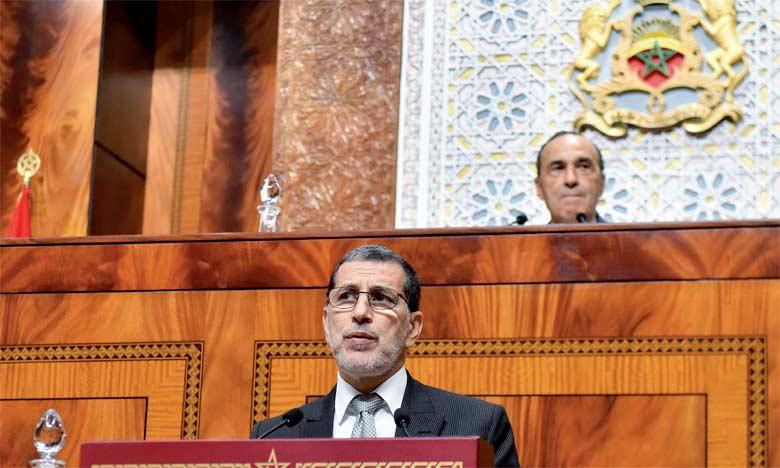 Le Chef du gouvernement expose les grandes lignes du plan d'action de développement du système  de protection sociale