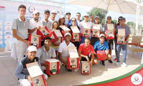 Les résultats ont été encourageants et promettent un bel avenir aux jeunes golfeurs.