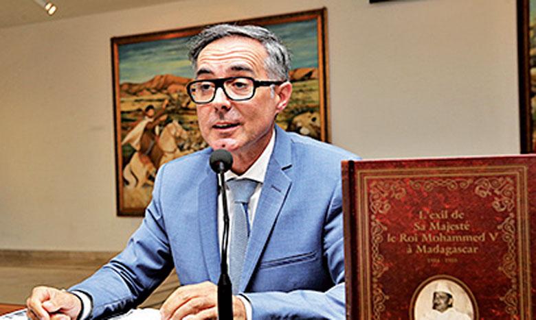 L'auteur du livre, Thierry Malbert.