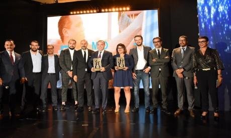 La remise du trophée a eu lieu, mercredi dernier, lors d'une cérémonie organisée à Casablanca en présence des acteurs de la publicité, des annonceurs et des agences conseil en communication.