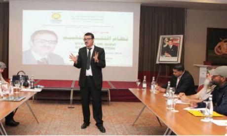 Session de formation au profit de 30 porteurs  de projets à Tanger-Assilah
