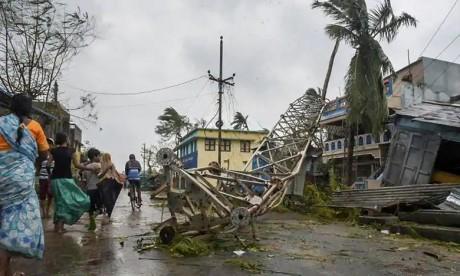 Titli a traversé la côte nord de l'Andhra et la côte sud de l'Odisha, avec des vents soufflant jusqu'à 165 km par heure. Le précédent bilan faisait état de 26 morts. Ph : DR
