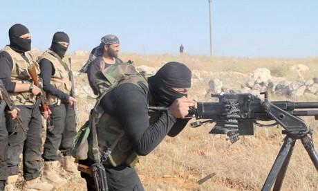 Quelque 3.000 combattants de l'organisation terroriste, en grande partie des étrangers, sont retranchés dans le secteur de Hajine, proche de la frontière irakienne.  Ph. DR