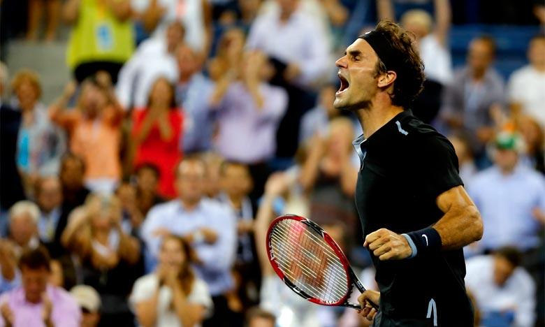 Roger Federer accède aux demi-finales
