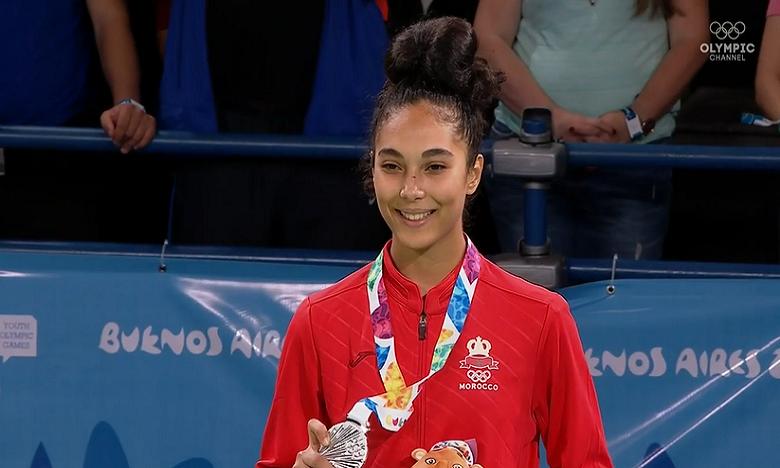 Safia Salih réussit la première médaille marocaine à Buenos Aires