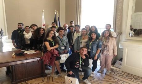 La première promotion de l'école belge de Casablanca honorée à Bruxelles