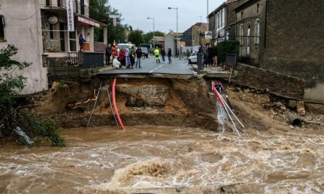 Au moins 13 morts dans des inondations en France
