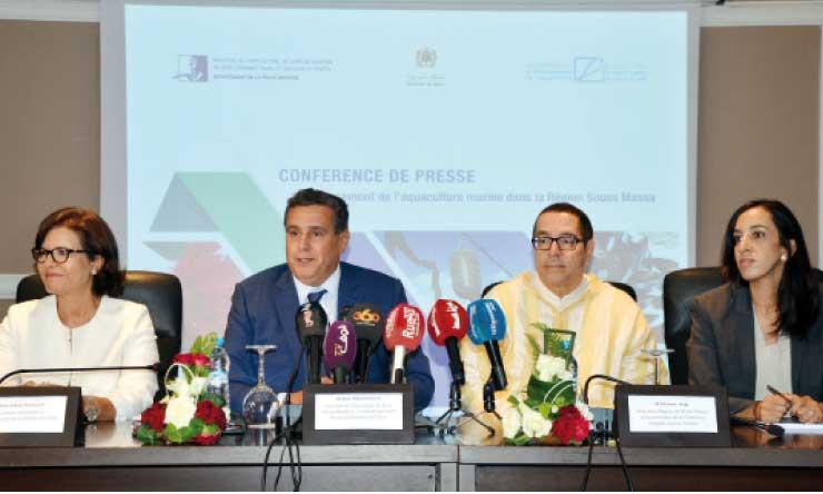 Aziz Akhannouch a présenté lors d'une conférence de presse les résultats des appels à manifestation d'intérêt lancés par l'Anda dans la région de Souss-Massa.