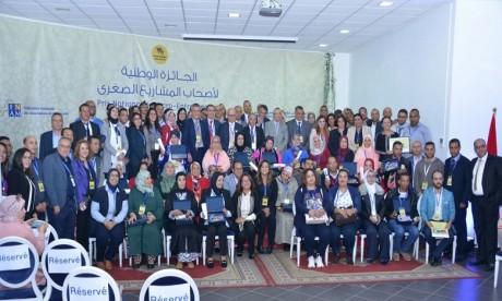 Cette année, le Prix national du Micro-Entrepreneur a récompensé pas moins de 32 candidats, dont 20 femmes, venus des différentes régions du Royaume. Ph : Saouri