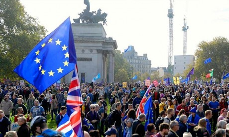 Brexit : mobilisation massive à Londres pour le second vote