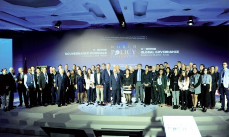 Clôture à Rabat de la 11e édition de la World  Policy Conference