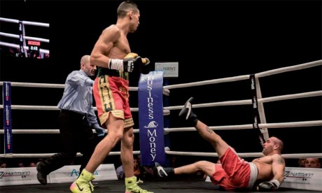 Mohamed Rabii vainqueur de son septième combat par KO
