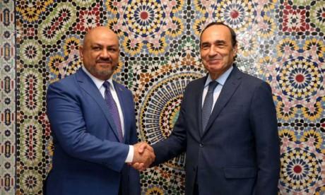 Le ministre yéménite des AE salue les efforts de S.M. le Roi en faveur de la paix et de la stabilité au Yémen