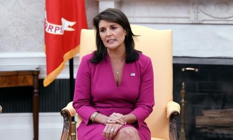 Nikki Haley, 46 ans, est l'un des membres les plus populaires de l'administration républicaine. Ph. AFP
