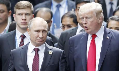 Donald Trump a annoncé que les États-Unis allaient se retirer d'un traité sur les armes nucléaires conclu avec la Russie pendant la Guerre froide, accusant Moscou de le violer «depuis de nombreuses années». Ph. AFP